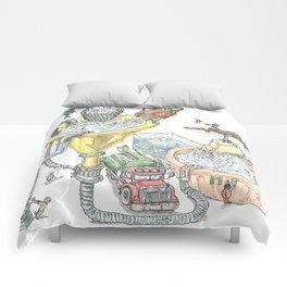 The Wonderful World of Water! Comforters