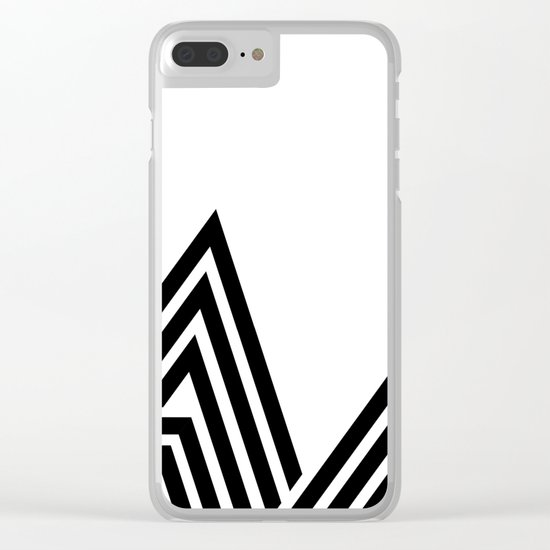 Hello V Clear iPhone Case