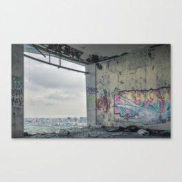 Panoramic Restaurant of Monsanto II Canvas Print