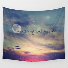 Anything could happen Wall Tapestry