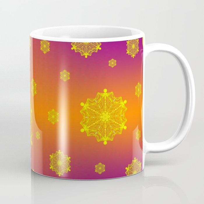 Snowflake Sunset Coffee Mug