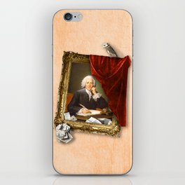 The Scribe's Secret Chamber iPhone Skin