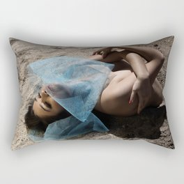 Birthing Taurus Rectangular Pillow
