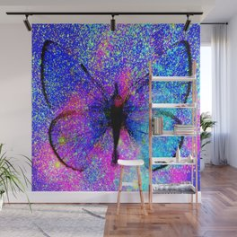 Celestial Butterfly : Bright & Colorful Wall Mural
