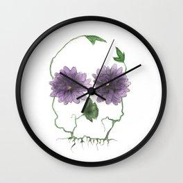 a beautiful warning Wall Clock