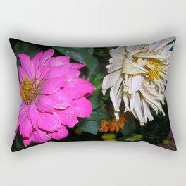 Face Away Rectangular Pillow