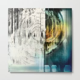 The Collapsing Sky Metal Print