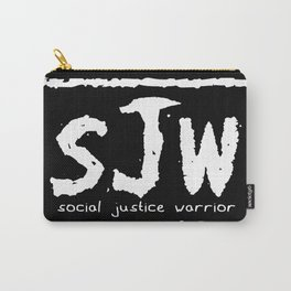 sJw - Social Justice Warrior Carry-All Pouch