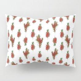 Australian Native Bottlebrush Pattern Pillow Sham