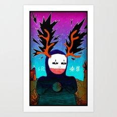 Eros Art Print
