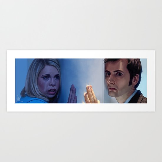 A different universe - Doctor Who Art Print