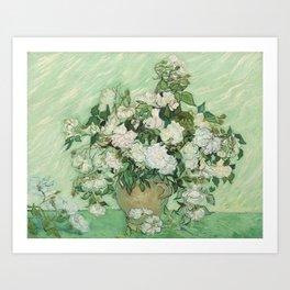 Vincent van Gogh - Roses Art Print