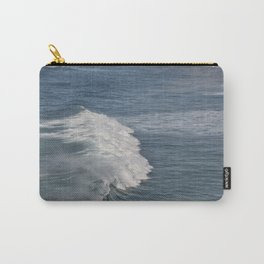 Surf On Wild West Coast Of Portugal Carry-All Pouch