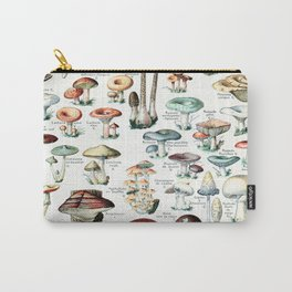 Adolphe Millot - Champignons pour tous - vintage poster Carry-All Pouch