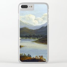 Victor de Grailly Hudson River Scene Clear iPhone Case