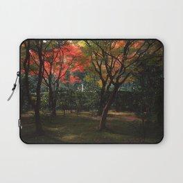 Early Autumn Trees Laptop Sleeve