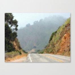 Big Sur Highway Canvas Print