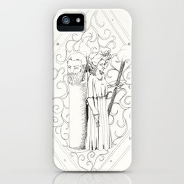 Hekate and Enodos at the Crossroads iPhone Case