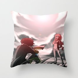 The World Disconnected Throw Pillow