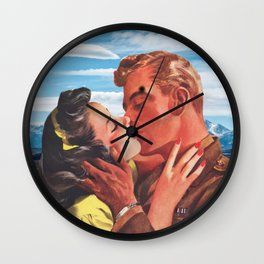 I was Waiting for You Wall Clock