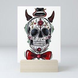 Mr. Dia de los Muertos Mini Art Print