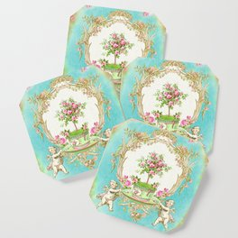 French Baroque Patisserie Tea Coaster