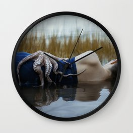 Kraken Wall Clock