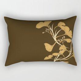 Gingko, Golden Life Rectangular Pillow