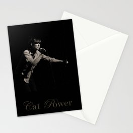 Cat Power Stationery Cards