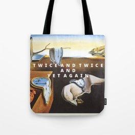 twice Tote Bag
