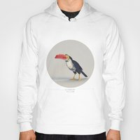 toucan Hoodies featuring TOUCAN by Dinosaur Design