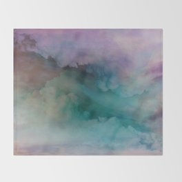 Astral Projection by Nature Magick Throw Blanket