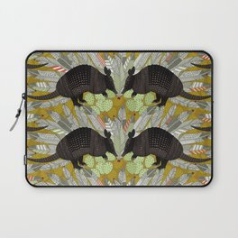 native armadillos gold Laptop Sleeve