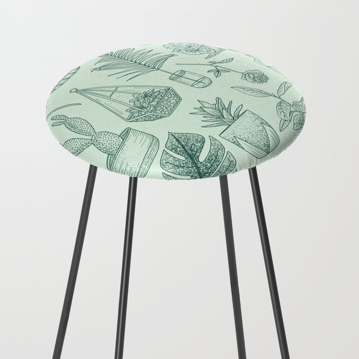 PLANTS LOVER Counter Stool
