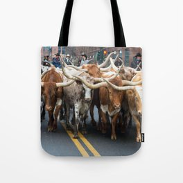 National Western Stock Show Parade Tote Bag