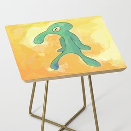 Bold and Brash Side Table