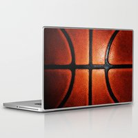 basketball Laptop & iPad Skins featuring Basketball by alifart