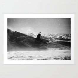 Iconic Indo Surfer Art Print