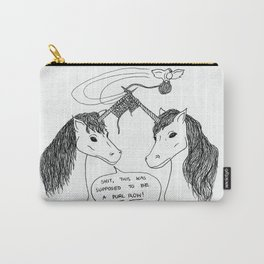 KNITTING UNICORNS Carry-All Pouch