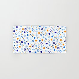 Very Hanukkah Pattern Hand & Bath Towel