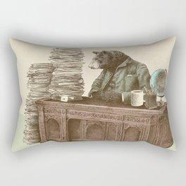 Bearocrat Rectangular Pillow