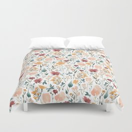 Deep Florals Duvet Cover
