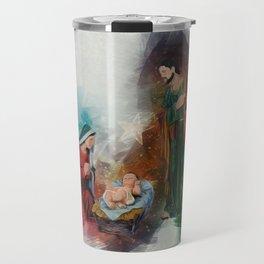 Jesus Is Born Travel Mug