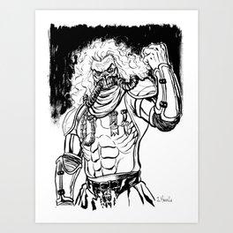 Immortal Joe Art Print