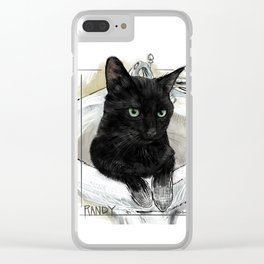 Randy Clear iPhone Case