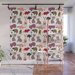 Aussie Animals Wall Mural