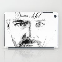 neil gaiman iPad Cases featuring Simon Neil - Biffy Clyro  by McFREE