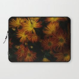 Red Striped Flowers Laptop Sleeve