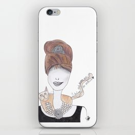 365 cabelos - Audrey iPhone Skin