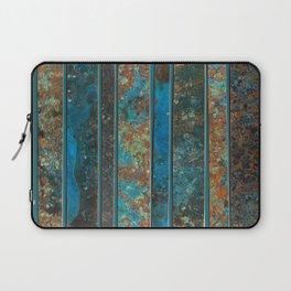 Metal Patina Stripes #2 Laptop Sleeve